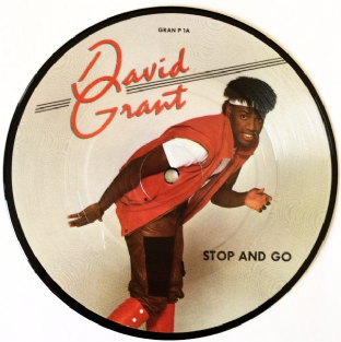 "David Grant ‎- Stop And Go (7"") (Picture Disc) (EX/VG+)"